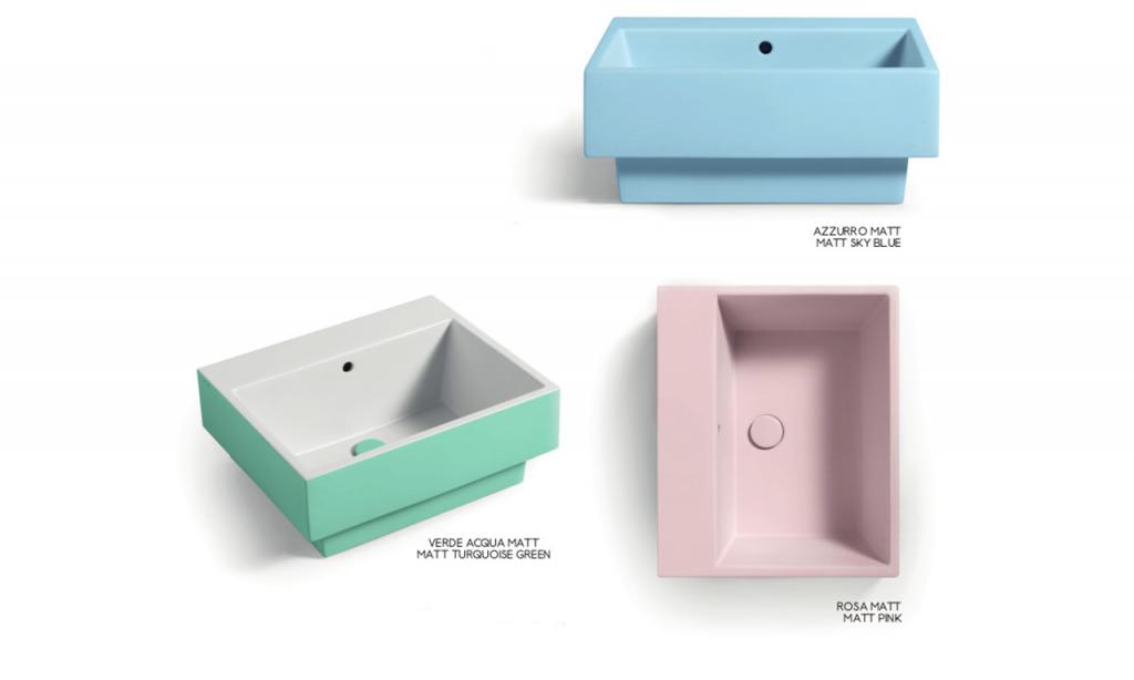 lavabi in ceramica Acquarella